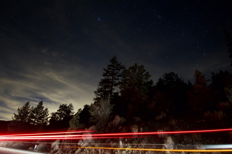 Stars near Big Bear.